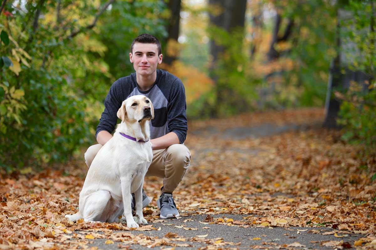 I cani e gli adolescenti