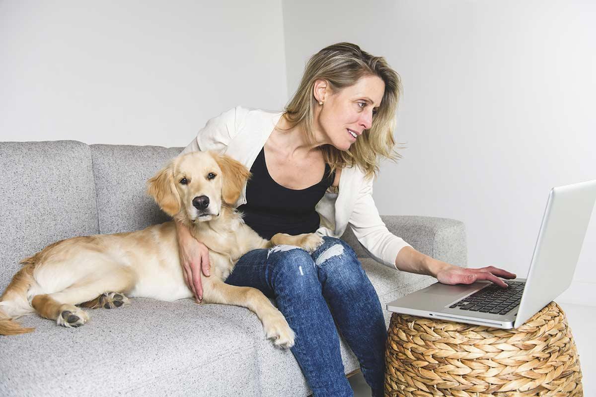 I cani ci aiutano nei giorni del Coronavirus