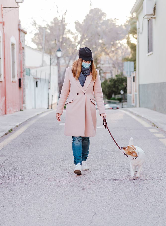 Coronavirus: i cani come percepiscono gli umani con la mascherina?